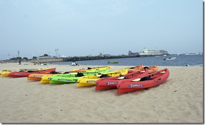kayaking and boating in provincetown